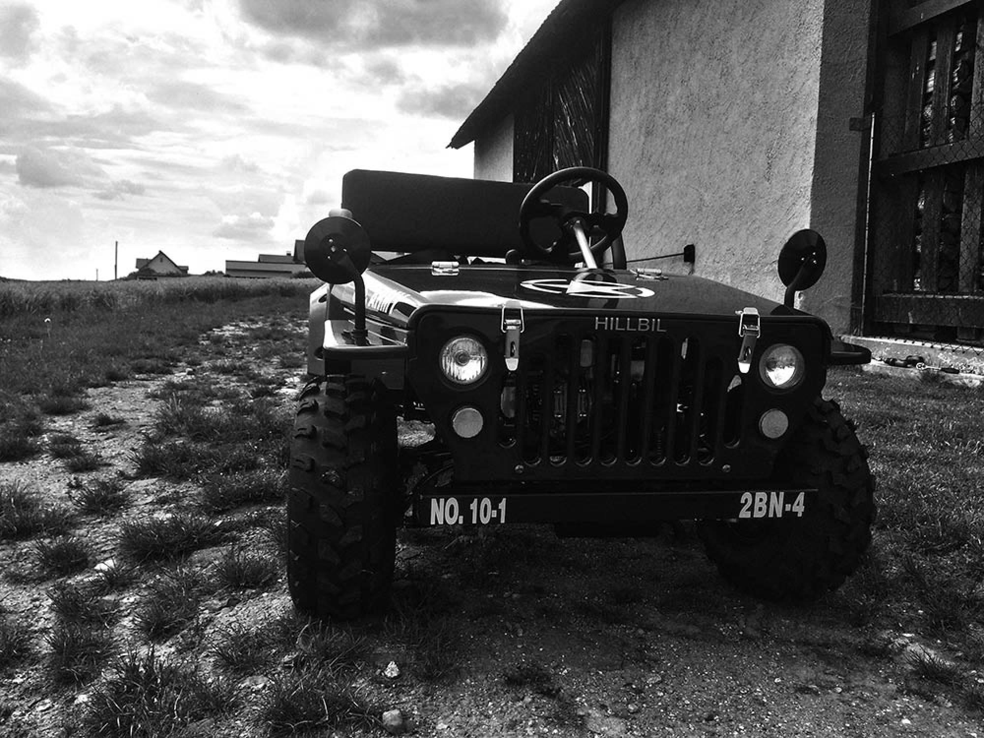 HILLBIL u s army willys mini jeep mini car for children fun