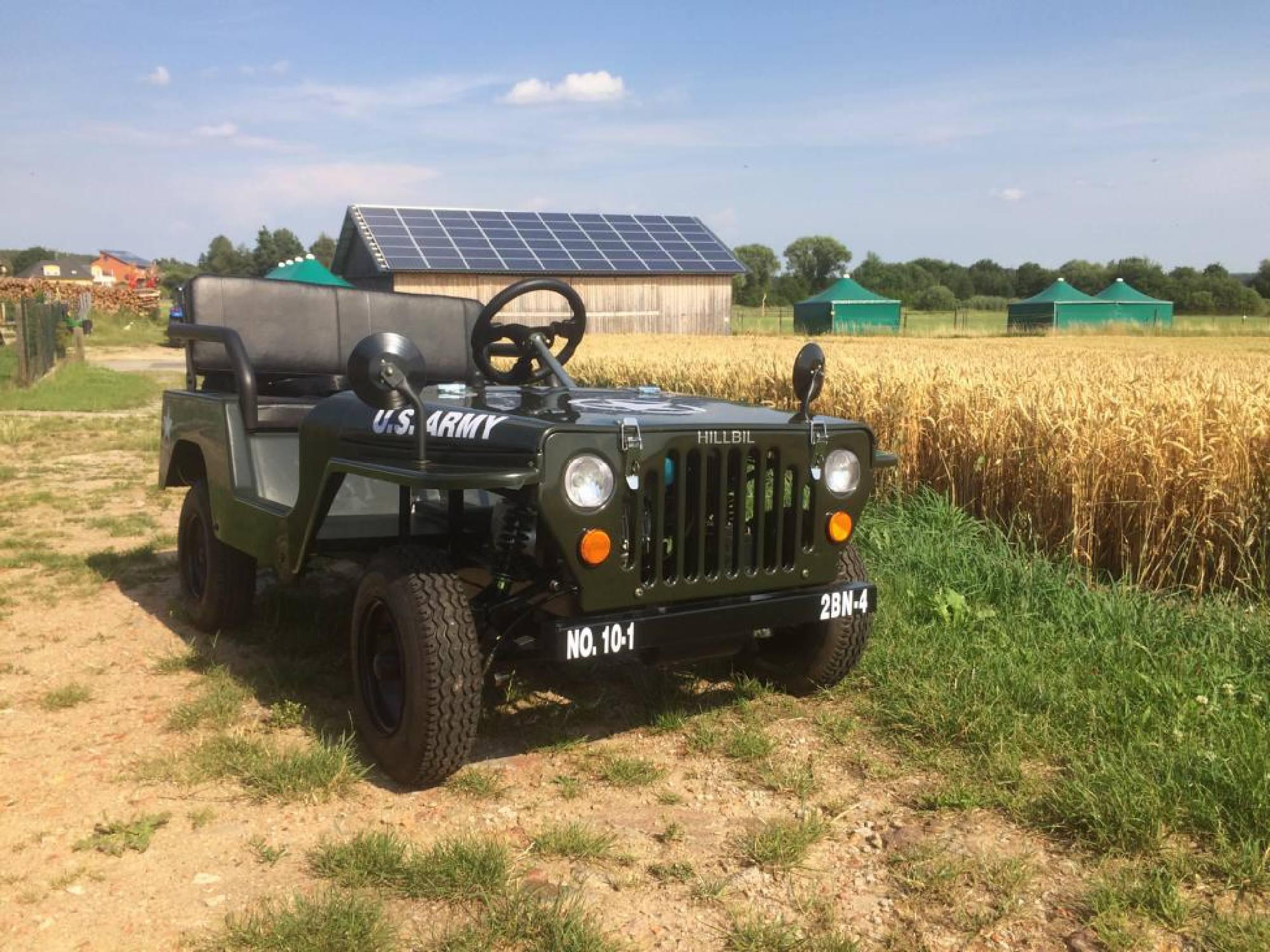 Topp HILLBIL - u.s army willys mini jeep - mini car for children fun MA-49