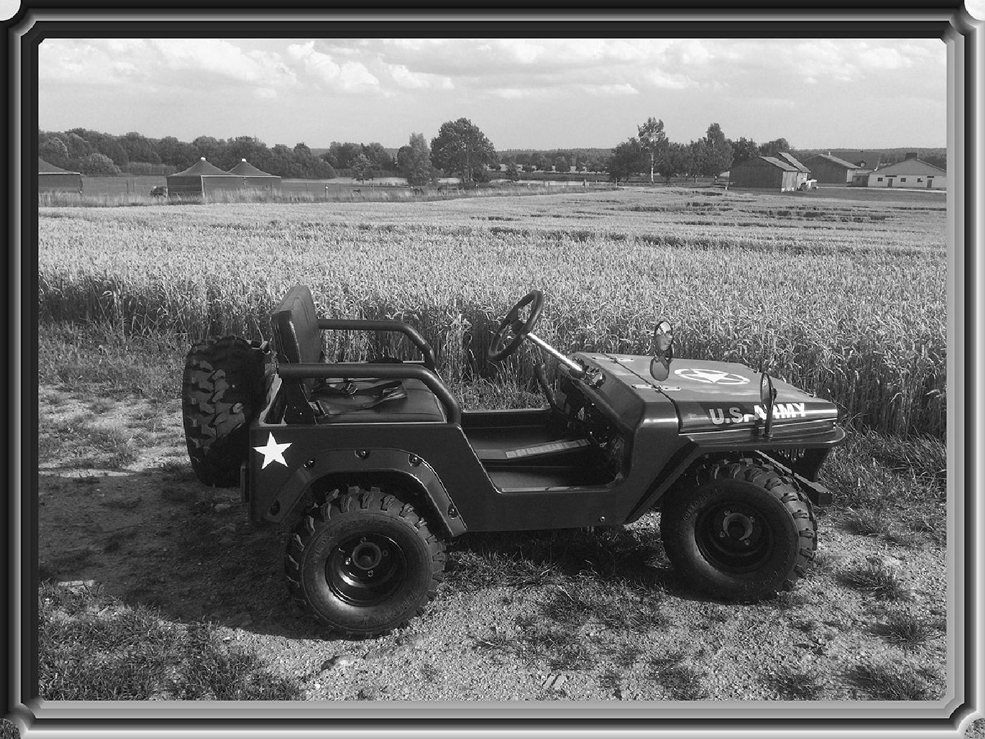 hillbil u s army willys mini jeep mini car for. Black Bedroom Furniture Sets. Home Design Ideas